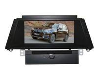 مشغل DVD سيارة مع نظام GPS الملاحة 1080P HD شاشة نظام الوسائط المتعددة ل B MW X5 E70 2011 ~ 2014