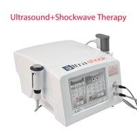 Gainswave صدمة الموجة العلاج آلة العلاجية الموجات فوق الصوتية لالتهاب اللفافة الأخمصية 2 مع الموجات فوق الصوتية و Shockwave مقابض