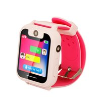Nuovi bambini Smart Watch Touchscreen LBS SOS Call Locator Anti perso Monitor Baby Security Orologio da polso DOM668