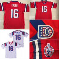 Hombres Shane Falco # 16 Red Stitched Movie Keanu Reeves Shane Falco 16 Centinelas Jersey Envío Gratis