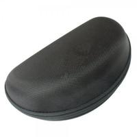 EVA 지퍼 안경 케이스 안경 브랜드 액세서리 5PCS 패키지와 함께 여성 남성 안경 상자 검은 색 원이 선글라스 케이스