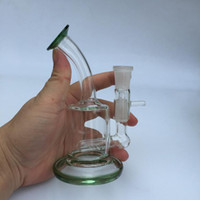 bécher base tuyaux d'eau vente chaude verre bongs épaisseur verre pour cire tabacoo sec herbe fumer