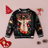 Fashion Winter Baby Kid Girl Letters Long Sleeve Round Colla...