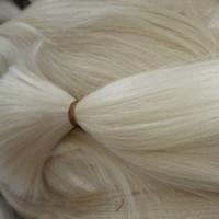 Sınıf 10A 613 # İpek Düz Dalga İnsan Saç Paketler 5Pcs Lot Perulu Bakire Sarışın İnsan Saç Toplu Sarışın Rengi 613 Sarışın Saç Toplu