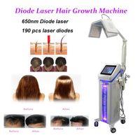 Nueva máquina láser de diodo crecimiento del cabello llegada de la alta calidad del vello con láser de diodo de láser de diodo nuevo crecimiento Pérdida Cabello Tratamiento