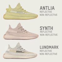 GID Glow In The Dark Argile Synth Antlia Lundmark V2 Hyperspace Static Réfléchissant Statique Hommes 3 M Chaussures De Course Crème Bred True Forme Baskets