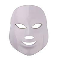 건강 미용 7 색 조명 LED 광자 PDT 페이셜 마스크 얼굴 스킨 케어 회춘 치료 장치 휴대용 가정 사용
