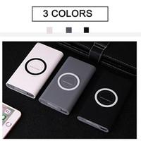 Nieuwe Qi Draadloze oplader 10000mAh batterij Power Bank Fast Charging Adapter voor Samsung S10 iPhone 8 iPhone X XR XS met doos