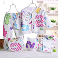 0- 3M Newborn Pajamas Sets Baby Unisex Clothes Underwear Anim...