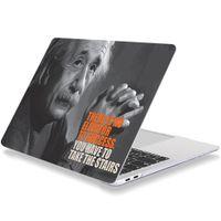 MacBook Case Macbook Pro / Macbook Air Einstein için 11/12/13/15/16 inç serbest bırakma plastik sert kabuk dizüstü kapak tüm modeller av
