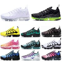 Nike air vapormax TN Plus Herren Damen Outdoor Schuhe Designer Grau und Rot Spiel Royal Mens Fashion Trainer Outdoor Laufschuhe 36-45