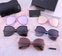 Luxary- 대형 선글라스 패션 선글라스 케이스 디자이너 박스 선글라스 미러 가방 선글라스 박스 편광 테스트 카드 안경 천