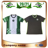20/21 Jersey de futebol 2020/2021 Home Maillot de Foot Nigéria # 10 Okocha Futebol Camisa Ahmed Musa Mikel Iheanacho Futebol Uniforme