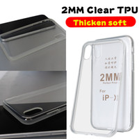 2MM Clear TPU Case For Iphone 11 Pro Max XS XR 8 Plus Samsun...