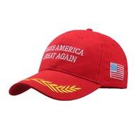 Le président Donald Trump Hat 2020 Keep Make Amérique Great Encore une fois Drapeau Maga papa rouge Casquette de baseball Hommes Femmes Gorros Snapback Hat