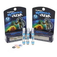 Moonrock Clear Tank Vape Cartridge Press Tips 1. 0ml 1 Gram C...