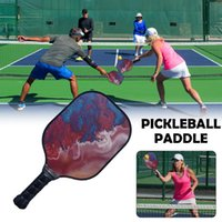 Nuevo Pickleball Paddle Colorido Fiberglass Beat Racquet Honeycomb Beat Racquet Polymer Composite Pickleball Paddle