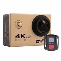 4K عمل كاميرا F60R WIFI 2.4G التحكم عن بعد للماء الفيديو الرياضة 16MP / 12MP 1080P 60FPS كاميرا الغوص