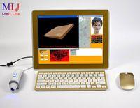 2019 حار بيع المهنية 3d الرقمية الرقمية الكاميرا تحليل الوجه اختبار الجلد الأشعة فوق البنفسجية المعدات الخفيفة ل عيادة