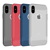 Per Iphone XR XS MAX X 6S 7 8 plus Custodia morbida per cellulare in TPU sottile custodia trasparente ultra sottile opaca per samsung S8 S9 plus Nota 8 9