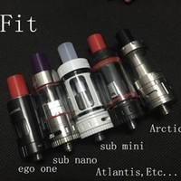 Cigarrillo electrónico Puntas anchas de goteo 510 Subtank Boquilla de boquilla de goteo de silicona para el subtanque mini nano subcarga más Atlantis