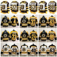 2019 Winter Classic Boston Bruins Hockey Zdeno Chara Patrice Bergeron Jersey Brad Marchand David Pastrnak 40 Tukka Rask 46 David Krejci Mann