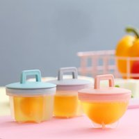 PP Egg Fryer Household Kitchen Fried Food Mold Four Pieces Set No Sticking Cup Eggs Fryer 6 5wd L1
