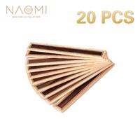 NAOMI 20 PCS 클래식 기타 브리지 타이 인레이 로즈 우드 우드 프레임 시리즈 기타 부품 NA - 01 신품
