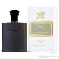 Parfüm für Männer Grüne Irish Tweed Langlebiges Große Kapazität 120ml / 4fl.oz EDP Black Bottle Neu im Kasten Verschiffen frei