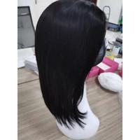 الماليزي شعر الإنسان 4X4 شريط جبهة لمة بوب الشعر عذراء الشعر اللون الطبيعي 4X4 الرباط الجبهة الباروكات بوب 10-18inch