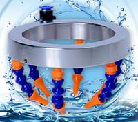 160mm Universal wasser spray ring cutter runde düse wasserkühlung kühlmittel rohr kunststoffschlauch für cnc router spindel teile