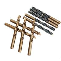 Twist Foret Set Scie Set Ensembles HSS Haute Vitesse Pertes en acier Métal Tool Wood Woodworking