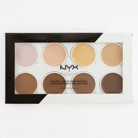 2020 Hot Nyx Contour Contour Cream Pro Palette 8 Couleurs Beauty Share pigmenté Telllight Maquillage Maquillage Maquillage Face Palesettes Livraison Gratuite