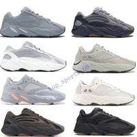 2019Inertia 700 corredor de la onda para hombre diseñador de las mujeres zapatillas de deporte nuevo hospital azules 700 zapatos V2 Imán Tefra mejor calidad Kanye West deporte con la caja