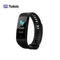 Smart Women Men Bluetooth Watch Sport Fitness Pulsera inteligente Frecuencia cardíaca Presión arterial Pantalla a color IOS Android Smart Wristband