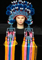 Drama opera kraliçe'nin taç gelin headdress phoenix coronet Çin antik kostüm aksesuarları cosplay performans kafa prenses için giymek