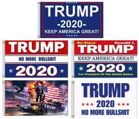 10Pcs halten Amerika Groß 2020 Donald für Präsidenten USA Präsidentschaftswahl Flags Trump 3x5 Flagge