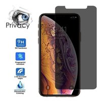 Privacy Tempered Glass for iPhone X XS Max XR 7 8 Plus Anti-...