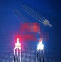 diodo bicolore foro superiore 2mm diodo principale a led 3pins anodo / catodo comuni