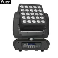 Nieuwe aankomst 25x15w 4in1 CREE LED Matrix Moving Head Beam Light DMX 512 RGBW LED Wash Stage Lights 19/29 / 117Channels 90V-240V