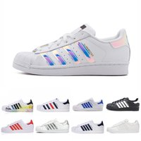 New Classic Superstar Bianco Nero Bianco Rosa Blu Oro Superstars 80s Pride Sneakers Super Star Donna Uomo Sport Scarpe Casual 36-44