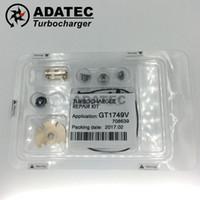 Haute qualité Turbocompresseur Kits de réparation GT15 GT17 GT18 GT20 GT22 GT25 Turbo Kit de rechange 708639 724930/713673/717478/454135 700447