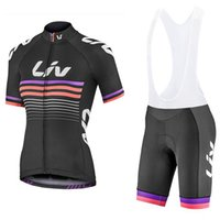 mulheres Ciclismo Jersey Set 2020 Pro Team LIV ciclismo roupa respirável MTB JERSEY BIB kit Ropa ciclismo