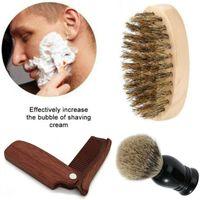 1шт борода щетка гребень щетина Кабан деревянные жесткие волосы усы клуб мягкие мужчины жених