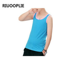 Riuooplie Les Lesbian Casual Breathable Cotten Long Chest Br...