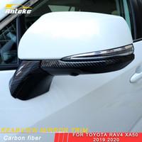 Pour Toyota Rav4 Rav 4 XA50 2019 2020 Car Rearview Mirror réflecteur couverture Décor Garniture cadre autocollant Accessoires extérieurs