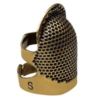 봉제 개념 도구 프로모션! thimbles, 레트로 골무 손가락 보호자 방패 손가락 핀 바늘 파트너 골라