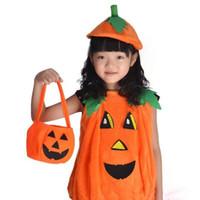 Plegable de Halloween caramelo sonrisa Personalidad plegable bolsa de dulces de calabaza cesta de regalo Wacky Expresiones tratar o Tricky Puntales Bolsa