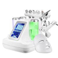9 en 1 Hydra dermoabrasión RF Bio-lifting facial microdermoabrasión oxígeno máquina de chorro de agua Hydro diamante Peeling máquina de belleza