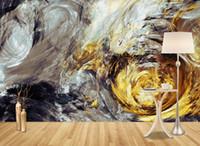 Personalizado HD 3D curva papel pintado 3D foto mural de la pared para sala de estar dormitorio arte abstracto Fondo mejoras para el hogar